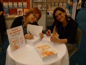 Présentes sur la photo, de gauche à droite, Caroline Morin et Ema Ferreira. Absente de la photo, Brigitte Martin.