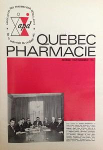 Premier numéro de Québec Pharmacie publié en février 1967