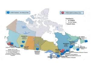 Le réseau CPNDS regroupe 13 hôpitaux pédiatriques et 7 hôpitaux adultes.