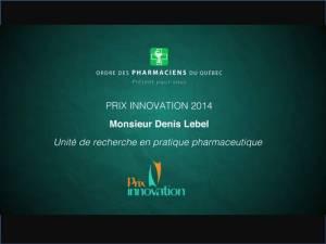 Prix Innovation 2014