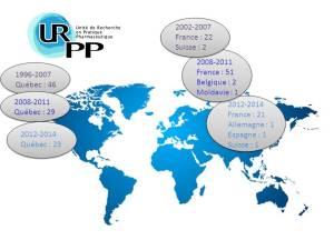 Étudiants formés à l'URPP