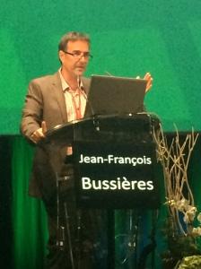 Jean-François Bussières à Hopipharm, mai 2015